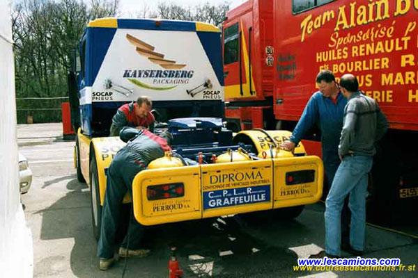Bruno Ramonas et son ?quipe - Dijon 2001