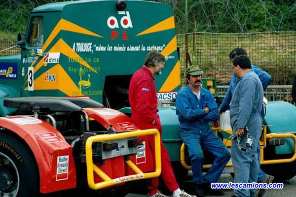 Les m?caniciens de l'?clair vert toulousain - Dijon 2001