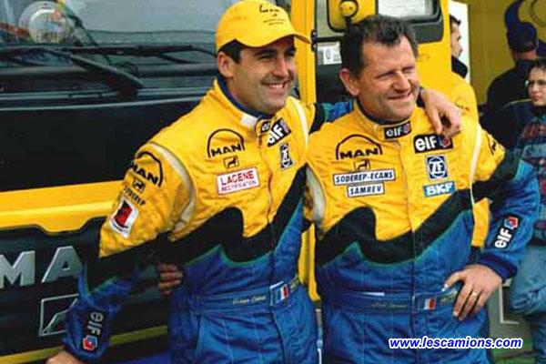 Fabien Calvet et Noel Crozier - Dijon 2001