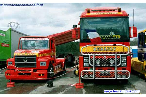 Le stand d'Alain Bugga - Dijon 2001