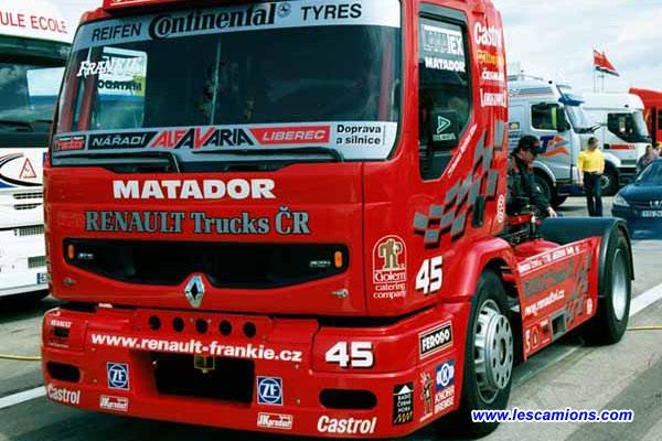 Le Renault de Frankie Vojtisek - Dijon 2001