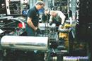 Changement de Boite de vitesses sur le Caterpillar d'Harri Luostarinen - Dijon 2001